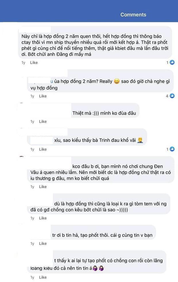 Thái Trinh nhận lời xin lỗi khi bị đồn hợp đồng tình yêu với Quang Đăng