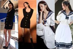 Mỹ nhân Hàn - Trung 'đụng độ' váy áo hàng hiệu: Ai đẹp hơn?