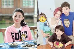 Cuộc sống của Trương Bá Chi và 3 con ở Thượng Hải