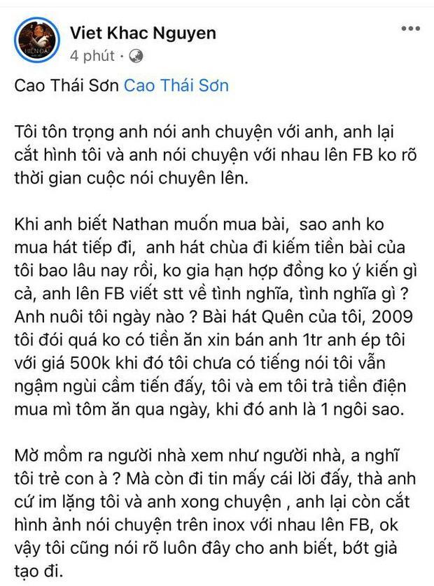 Khắc Việt than thở năm xưa bị chèn ép, Nguyễn Văn Chung đáp phải chấp nhận-3