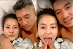 Ngân 98 bị chỉ trích clip 'giường chiếu' với Lương Bằng Quang