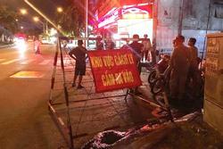 TP.HCM: Cháy nhà trong khu vực đang được cách ly, một người tử vong