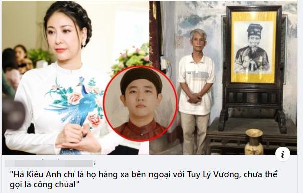 Hậu duệ nhà Nguyễn nói gì sau khi Hà Kiều Anh xin lỗi?-5