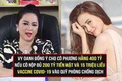 Vy Oanh tuyên bố sẽ cho bà Phương Hằng 400 tỷ với điều kiện... 'sốc óc'