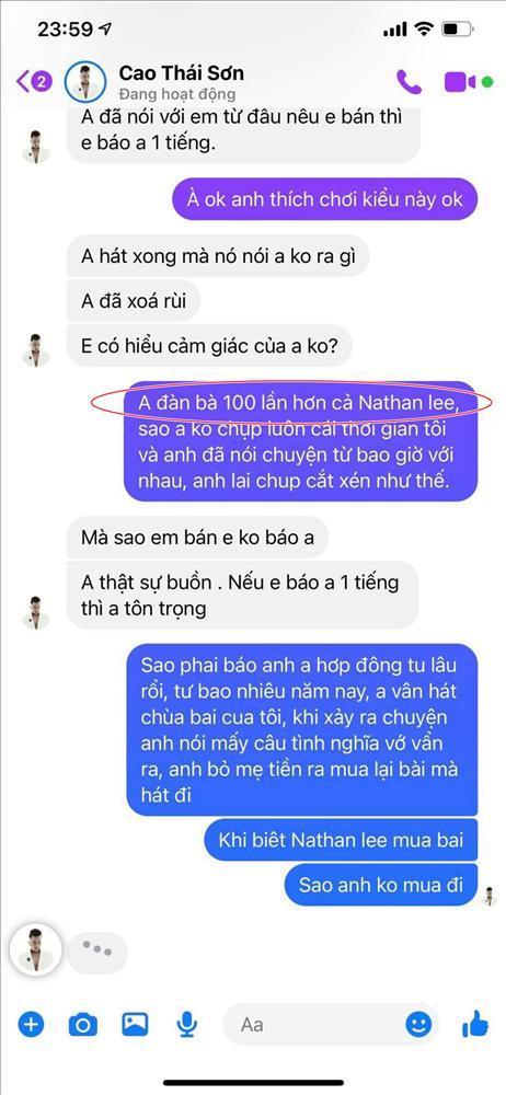 Nguyễn Văn Chung: Cao Thái Sơn thân lừa ưa nặng