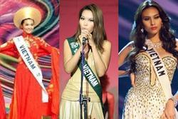 3 siêu mẫu Vbiz thi quốc tế: Không ai thoát cái kết 'đắng lòng'