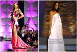 Đầm dạ hội bị chê tơi bời tại Miss Universe: Bộ giống váy ngủ, bộ như khăn trải bàn