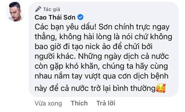 Cao Thái Sơn gọi antifan là động vật nhai cỏ