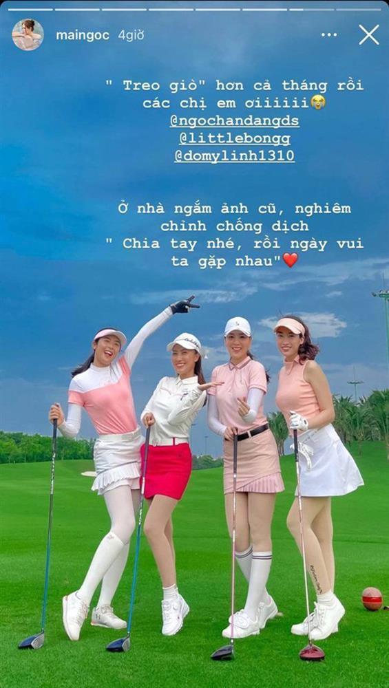 Đỗ Mỹ Linh chơi golf: Đã hết phèn nhờ chi tiền không tiếc tay-8