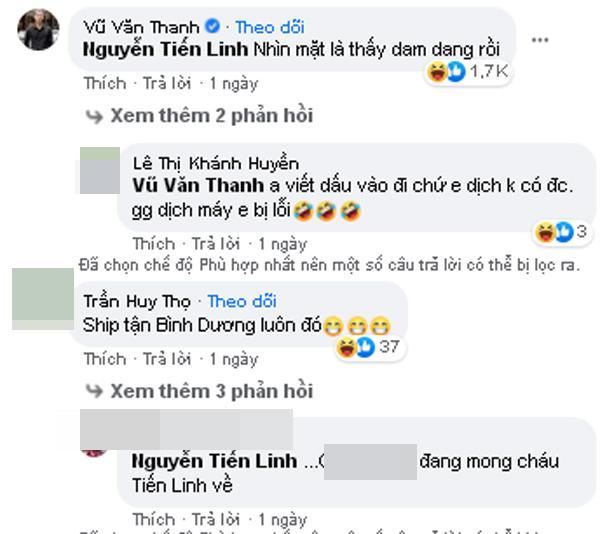 Đăng status ngôn từ nhạy cảm, Tiến Linh liền bị spam loạt link clip nóng-3