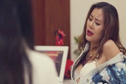 Cảnh nóng của diễn viên hài: Việt Hương 'cặp' trai trẻ có bạo hơn Nam Thư?