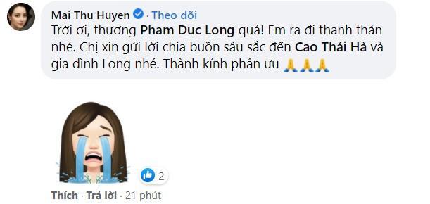 Dàn sao Việt bàng hoàng khi Đức Long qua đời-5