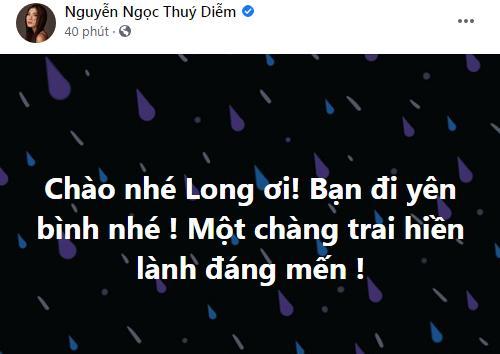 Dàn sao Việt bàng hoàng khi Đức Long qua đời-9