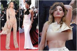 'Thiên thần' cũng không đu nổi 'kẻ vô danh' khoe ngực ở Cannes 2021