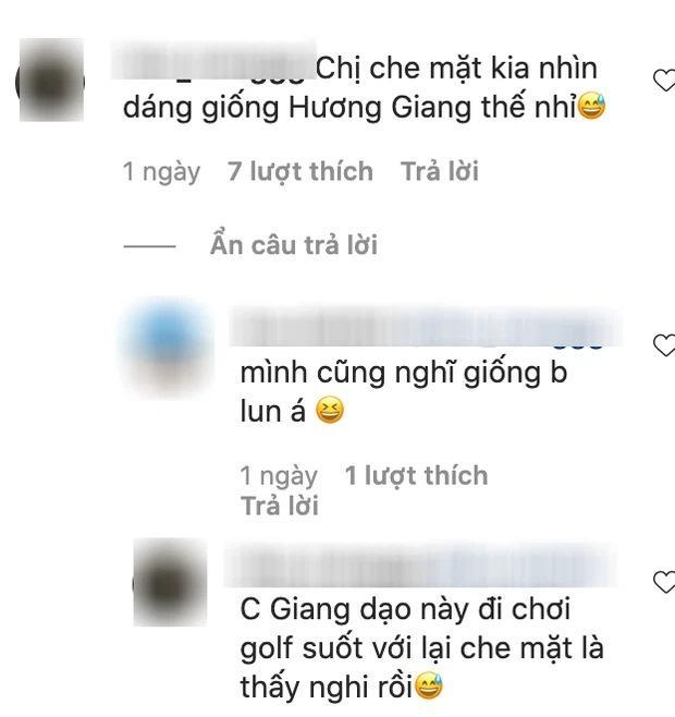 Sau 4 tháng ở ẩn, Hương Giang tái xuất đi chơi golf cùng Đỗ Mỹ Linh?-4