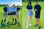 Sau 4 tháng ở ẩn, Hương Giang tái xuất đi chơi golf cùng Đỗ Mỹ Linh?