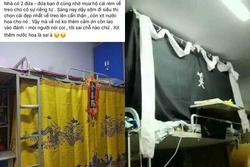 Treo rèm giường cho riêng tư mà ai nhìn cũng tưởng lập đàn cầu mưa