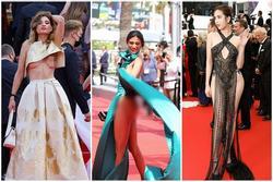 'Tái mào' vì váy áo phản cảm nhất Cannes, Ngọc Trinh đứng top 1