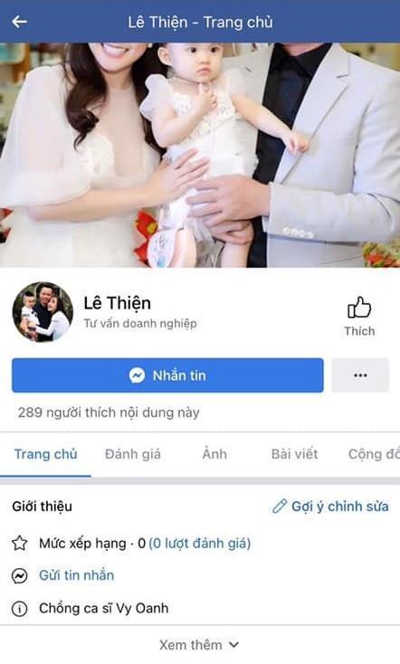 Chồng Vy Oanh bị tung bằng chứng chơi Facebook thành thần