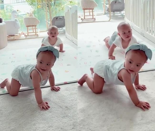 Hồ Ngọc Hà lạm dụng app, Lisa - Leon kém xinh qua clip mẹ quay-1