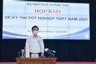 Nóng: Bộ GD-ĐT thừa nhận có sự cố 'lọt' đề thi tốt nghiệp THPT môn Toán
