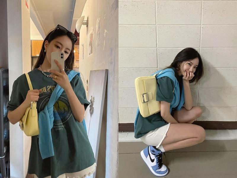 1001 cách mix&match áo phông cực đỉnh của mỹ nhân Hàn