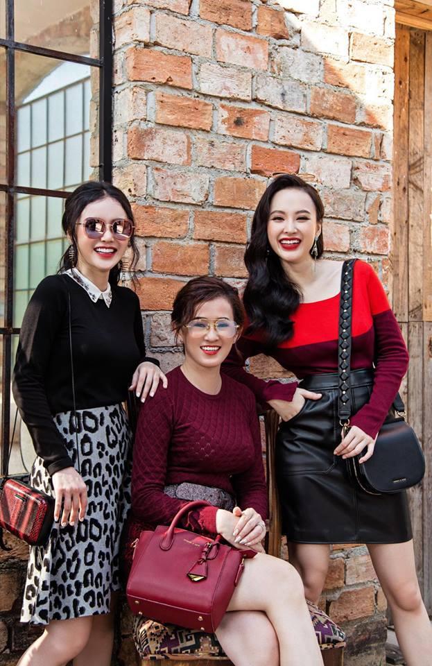 Nhan sắc mẹ Angela Phương Trinh trẻ như chị em với con gái-9