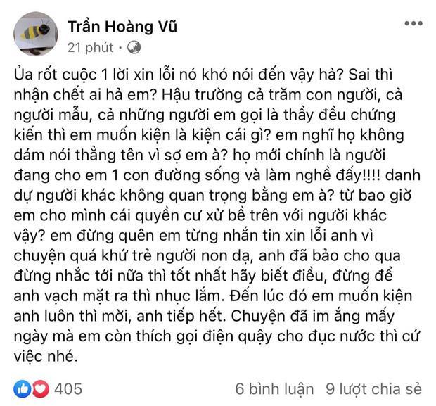 Lê Thanh Thảo: Hoàng Thùy nói tôi viết sai sự thật và sẽ nhờ luật pháp-1