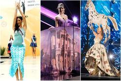 Thảm họa quốc phục quốc tế: Người mặc có khi chẳng muốn ngắm lại