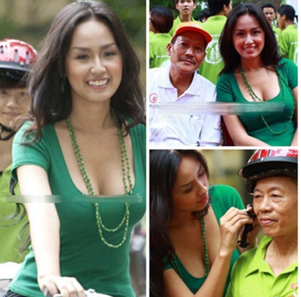 BST giày lênh khênh, áo hở ngực của mỹ nhân Việt khi đi từ thiện-6