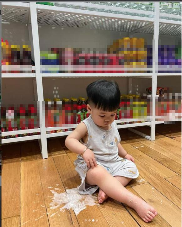 Tích trữ mùa dịch, ái nữ Minh Nhựa khoe kệ đồ như tiệm tạp hóa-3