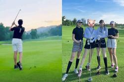Matt Liu khoe ảnh đi đánh golf, chính là chỗ Hương Giang vừa check-in?