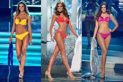 Số đo khác biệt của Miss Universe: Người lép kẹp, người chạm ngưỡng 1m
