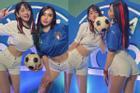 2 tiktoker Việt khoe cơ thể trên truyền hình cổ vũ chung kết Euro