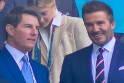 Chung kết Euro 2020: Tom Cruise và Beckham khiến thế giới 'chao đảo'