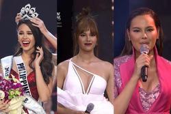 Hoa hậu Hoàn vũ tăng cân như... đô vật, 3 vòng thẳng đuột