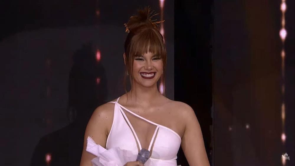 Hoa hậu Hoàn vũ tăng cân như... đô vật, 3 vòng thẳng đuột-3