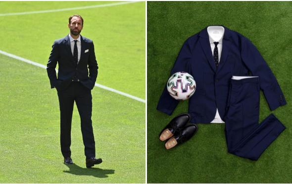 Vì sao HLV tuyển Anh hay mặc suit kèm cà vạt chấm bi?