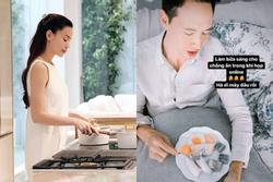 Hồ Ngọc Hà khoe thành quả nấu ăn cho chồng