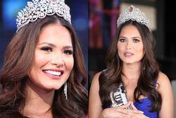 Nhan sắc tân Hoa hậu Hoàn vũ bị chê không hợp vương miện 116 tỷ