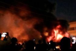 Iraq: Nổ bình oxy, cháy khu điều trị bệnh nhân Covid-19, hơn 110 người thương vong