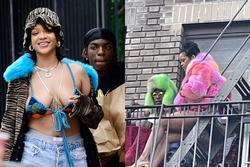 Rihanna xuất hiện với trang phục tắc kè hoa, nhạc mới sắp cận kề rồi ư?