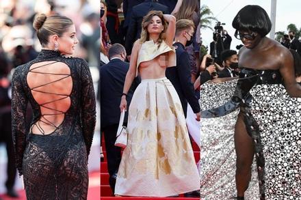 Những màn lên đồ thảm họa nhất Liên hoan phim Cannes 2021