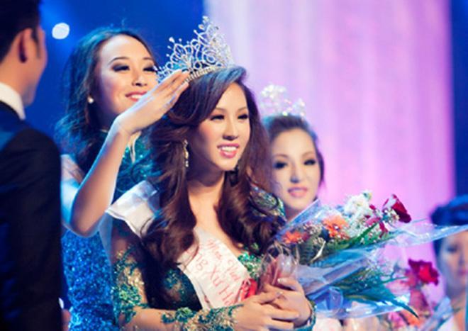 Nhan sắc Thu Hoài, Thúy Nga trong cuộc thi Hoa hậu bị tố mua giải-2