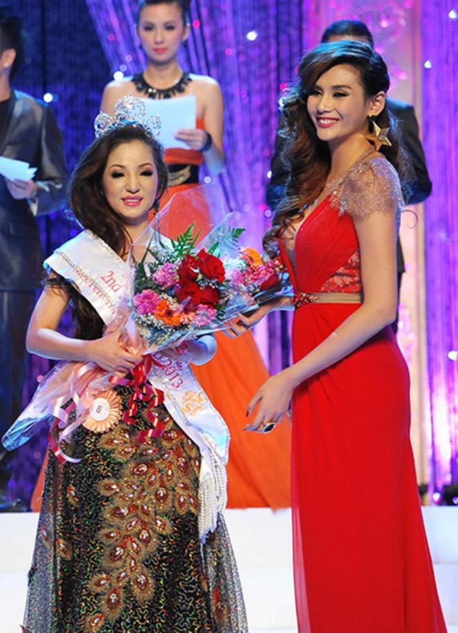 Nhan sắc Thu Hoài, Thúy Nga trong cuộc thi Hoa hậu bị tố mua giải-3
