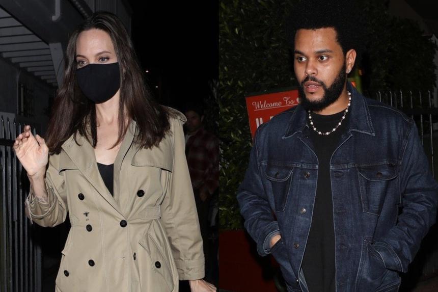 Angelina Jolie đang hẹn hò The Weeknd?-1