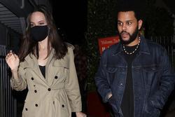 Angelina Jolie đang hẹn hò The Weeknd?