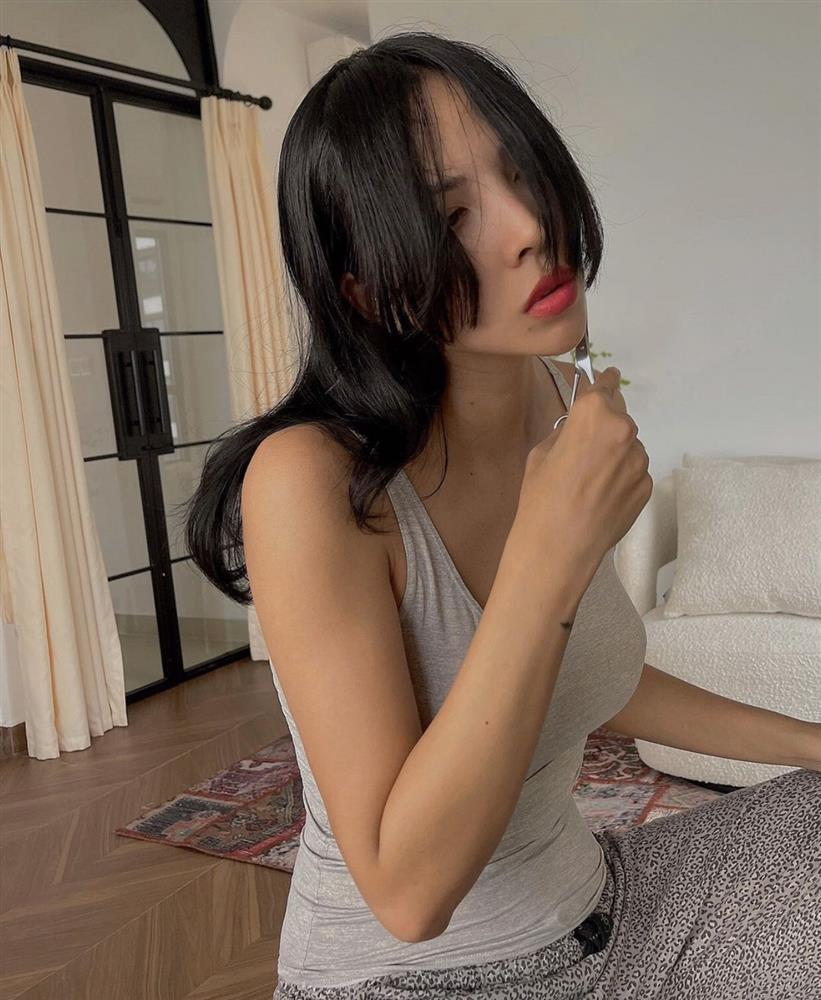 Kỳ Duyên nhờ Minh Triệu cắt tóc, lộ bằng chứng sống chung?-1