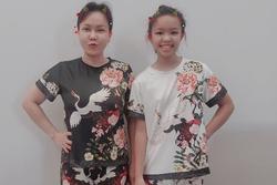 Việt Hương cho con gái mặc đồ bộ 100k, nói không với hàng hiệu