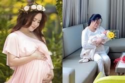 Vy Oanh nói gì khi bị bóc mang thai 12 tháng mới đẻ?